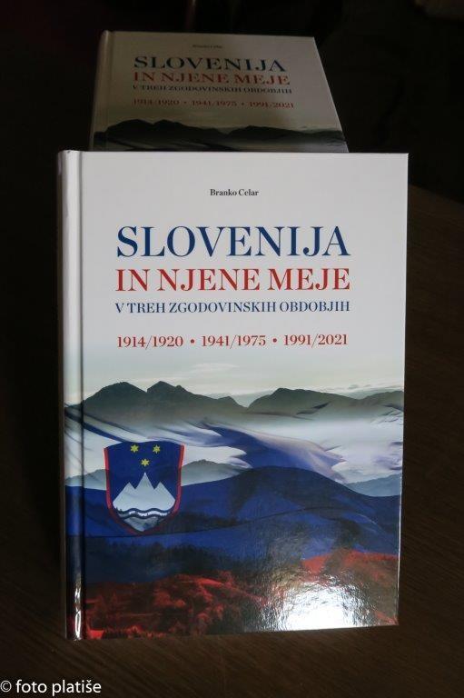 Predstavitev knjige Slovenija in njene meje v treh zgodovinskih obdobjih