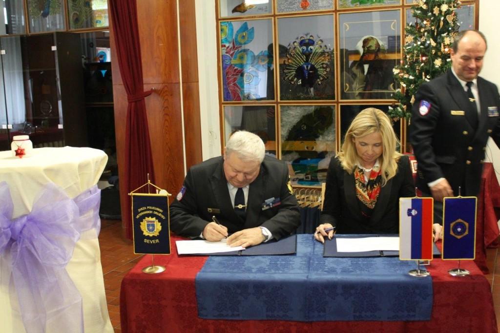 Podpis Letnega načrta sodelovanja 2019 med Policijo in ZPVD Sever