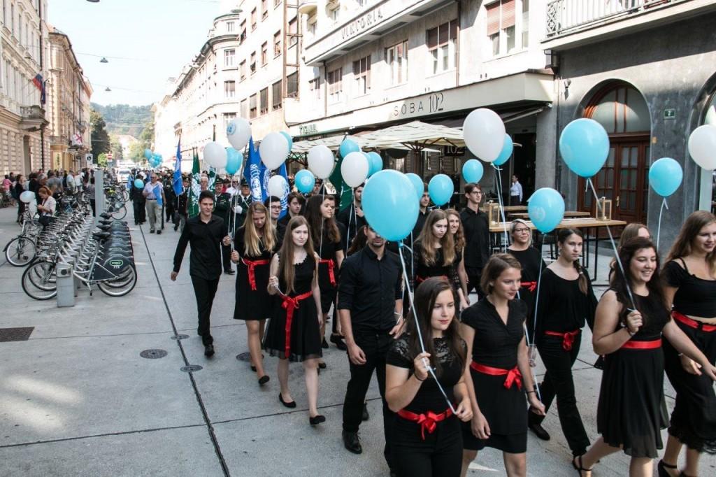Pohod za mir v Ljubljani 2018