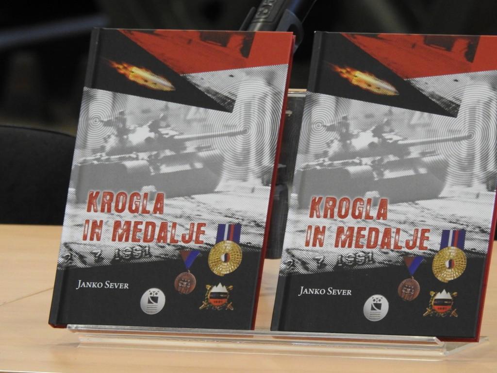 Predstavitev knjige Krogla in medalje