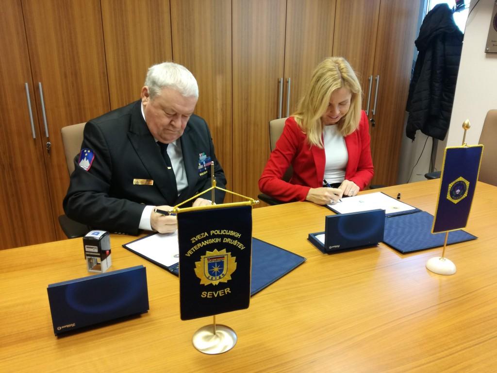 Podpis Letnega načrta sodelovanja 2020 med Policijo in ZPVD Sever