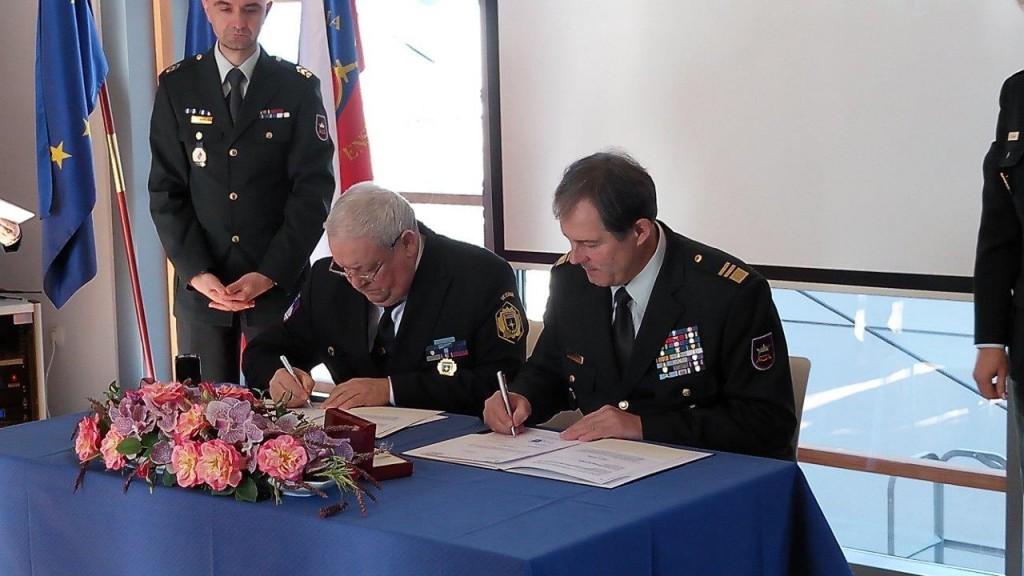 Podpis letnega načrta sodelovanja s Slovensko vojsko za leto 2017