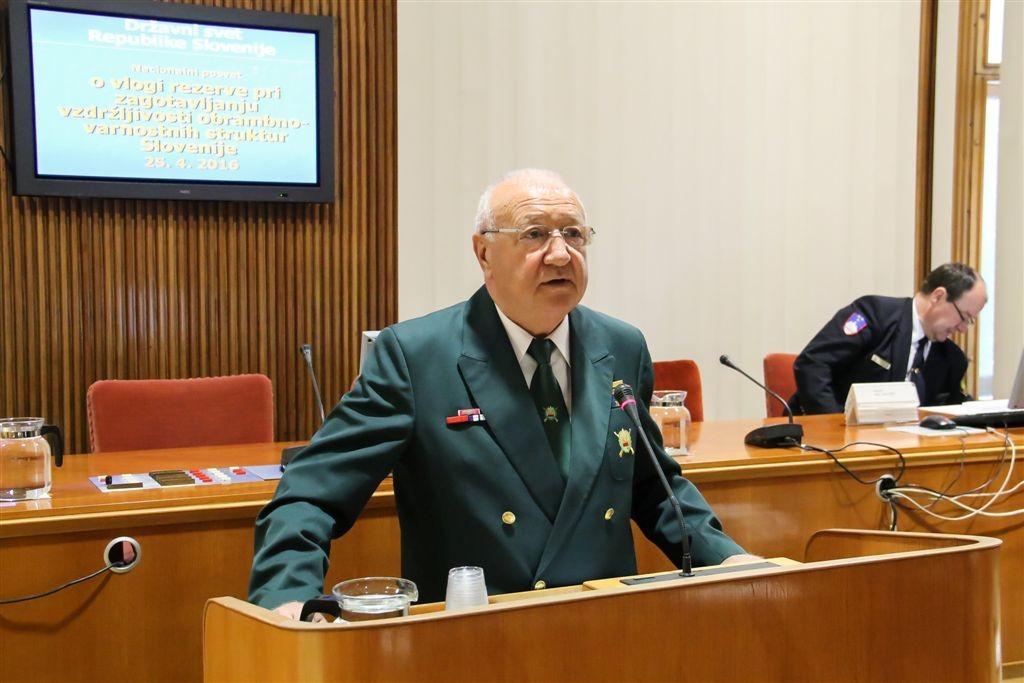 Nacionalni posvet o vlogi rezerve pri zagotavljanju vzdržljivosti obrambno-varnostnih sistemov Slovenije