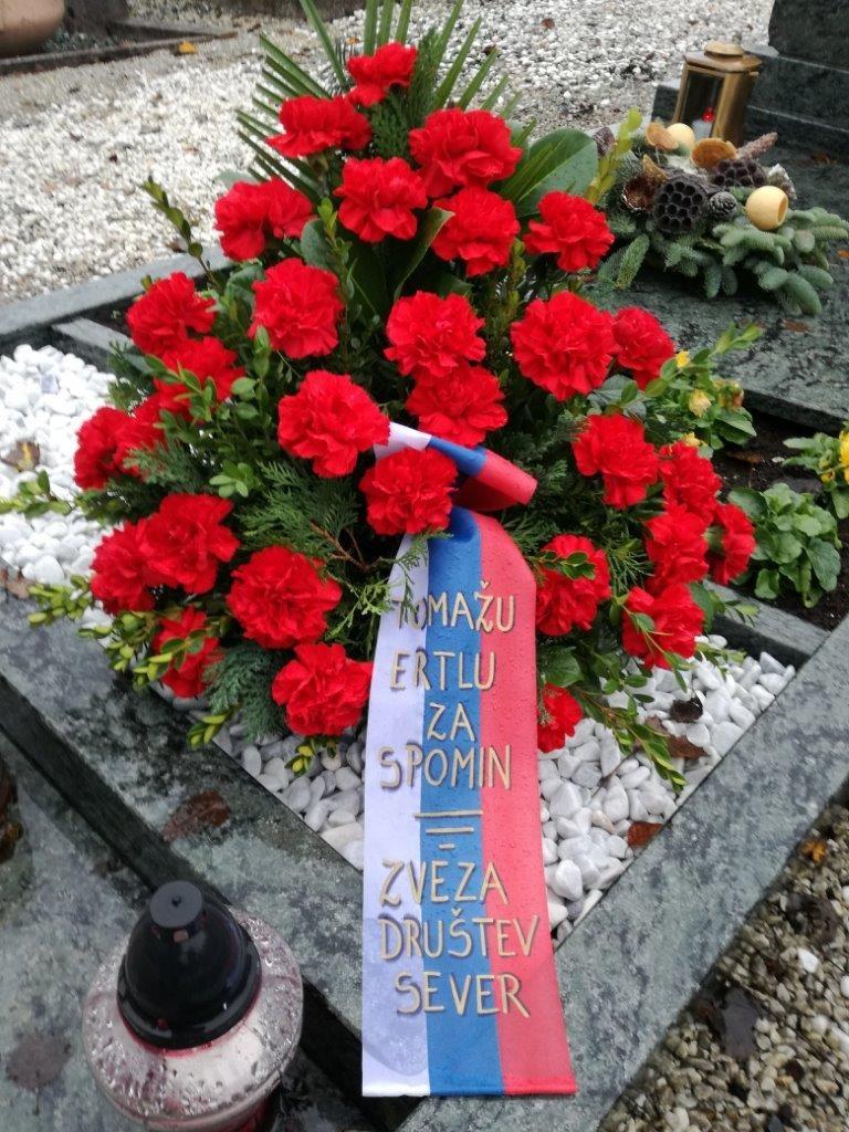 Poklon Tomažu Ertlu ob obletnici smrti