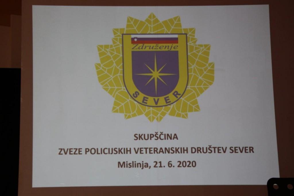 Zveza policijskih veteranskih društev Sever je opravila redno letno skupščino