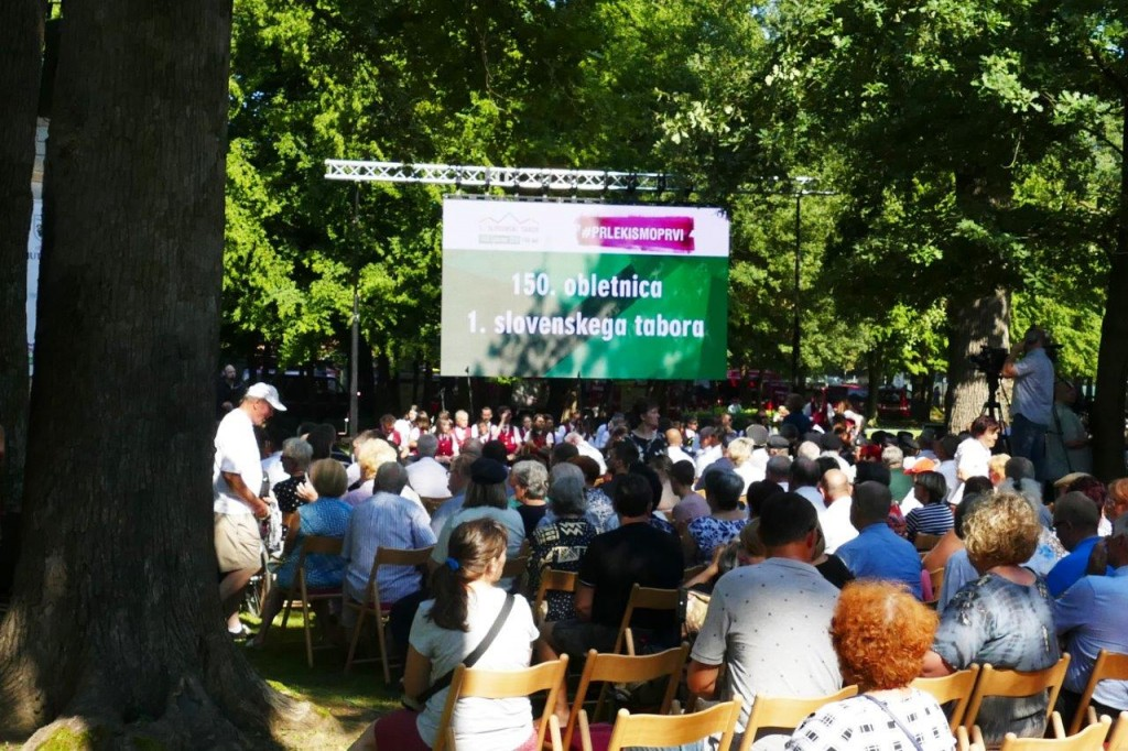 Osrednja slovesnost ob 150. obletnici prvega slovenskega tabora