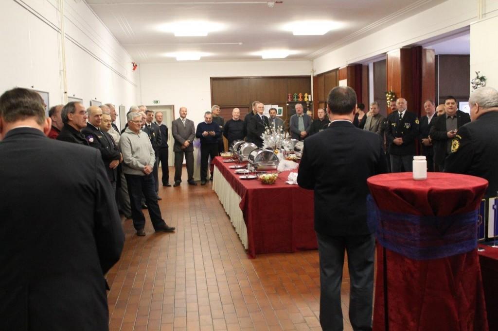 Prednovoletno srečanje razširjenega Upravnega odbora Zveze policijskih veteranskih društev Sever s predstavniki MNZ in Policije