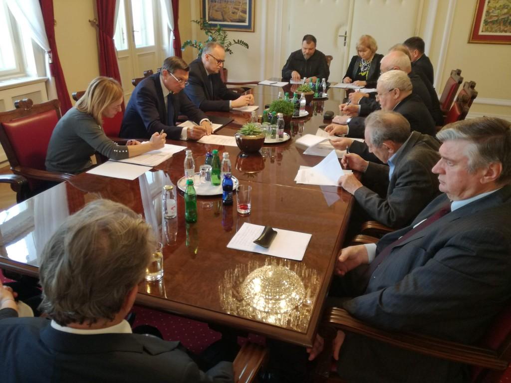 Predsednik Pahor sprejel predsednike KoDVOS