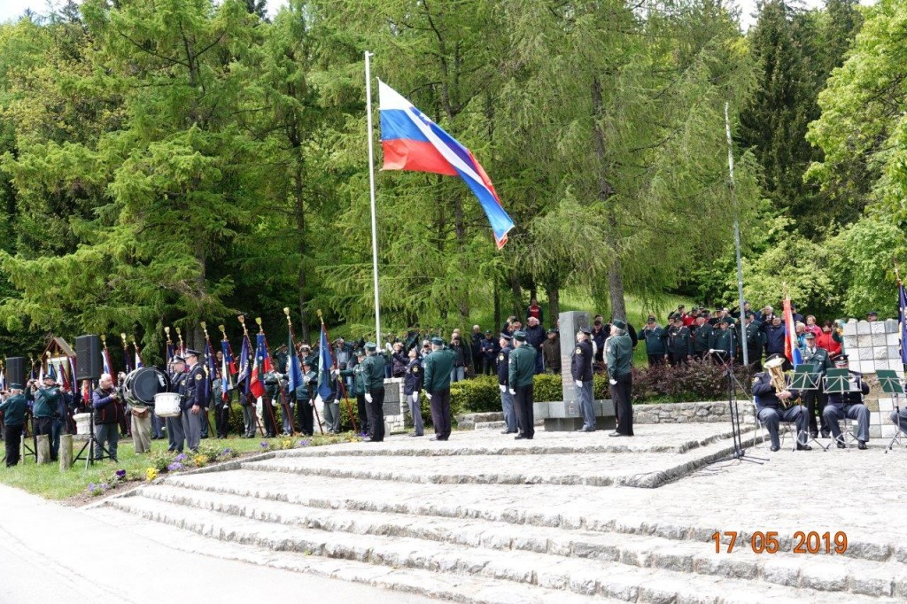 Osredja slovesnost ob dnevu veteranov vojne za Slovenijo 1991